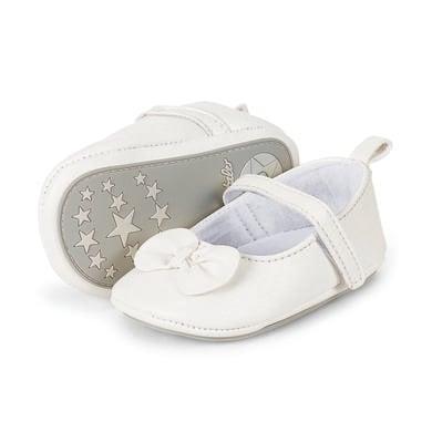 Babyschuhe - Sterntaler Girls Baby–Ballerina, weiß – Gr.19 20 – Mädchen - Onlineshop Babymarkt