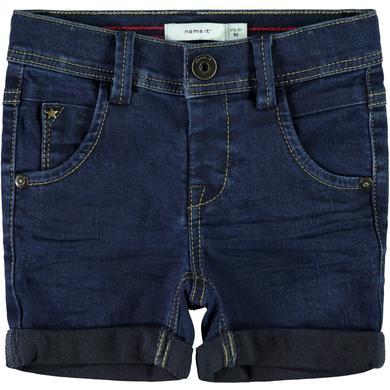 name it Boys Jeans Shorts dark blue denim blau Gr.Babymode (6 24 Monate) Jungen