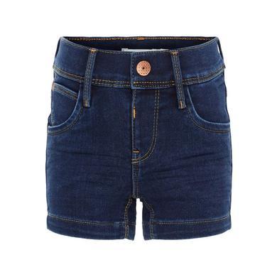 name it Girls Jeans Shorts Salli dark blue denim blau Gr.Babymode (6 24 Monate) Mädchen