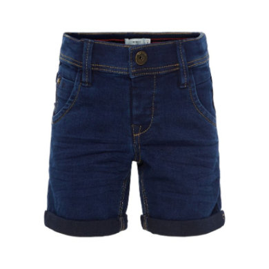 name it Boys Jeans Shorts Ryan dark blue denim blau Gr.Babymode (6 24 Monate) Mädchen
