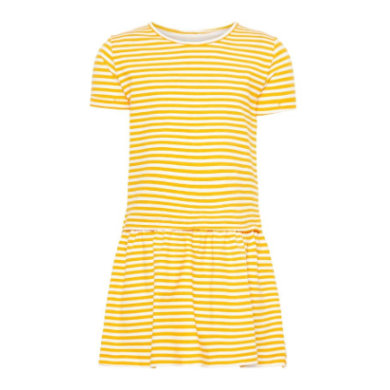 Minigirlroeckekleider - name it Girls Kleid Petulla cadmium yellow - Onlineshop Babymarkt