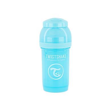 Twist shake Drinkfles anti-koliek 180 ml pastel blauw