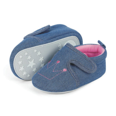 Babyschuhe - Sterntaler Girls Baby–Krabbelschuh, marine - Onlineshop Babymarkt