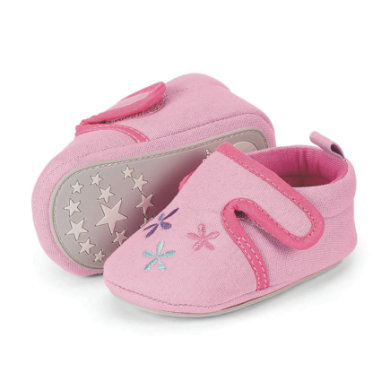 Sterntaler Girls Baby Krabbelschuh, rosa rosa pink Gr.19 20 Mädchen
