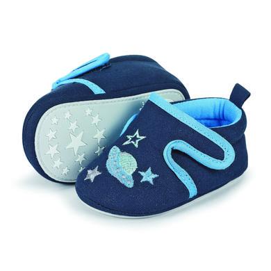 Sterntaler Boys Baby–Krabbelschuh, marine – blau – Gr.19 20 – Jungen
