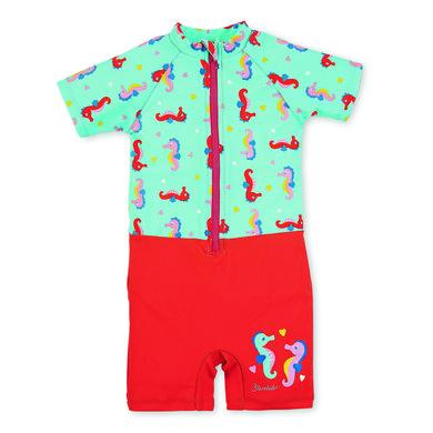 Sterntaler Schwimmanzug Seepferdchen meeresblau türkis Gr.Babymode (6 24 Monate) Mädchen