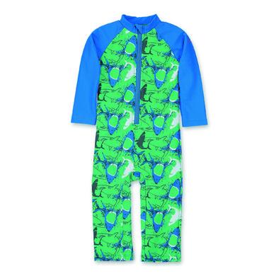 Sterntaler Schwimmanzug lang Hai pfefferminz grün Gr.74 80 Jungen