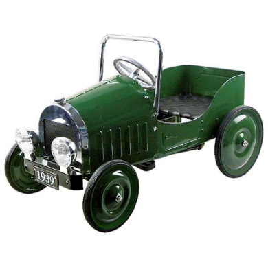 Tretfahrzeuge - goki Tretauto grün (1939) - Onlineshop