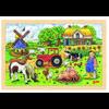 goki Puzzle inlay Müllers Farm, 24 szt.