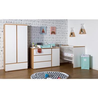 Babyzimmer - CHILDHOME Kinderzimmer Palma 60 x 120 cm 2 türig weiß  - Onlineshop Babymarkt