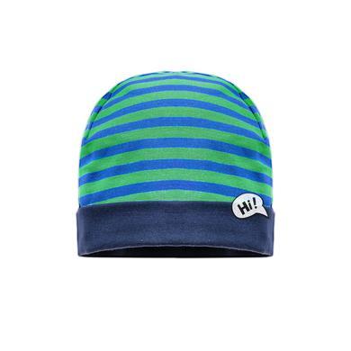 maximo Boys Mini Mütze Planet kräftiges Grün blau Gr.Kindermode (2 6 Jahre) Jungen