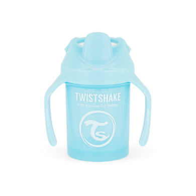 Twist shake Drink cup Mini Cup 230ml pastelově modrá