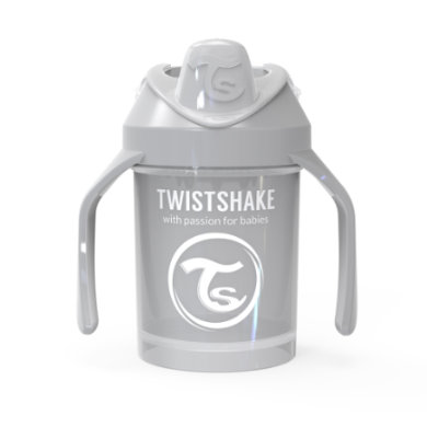 Twist shake Drink cup Mini Cup 230ml pastelově šedá