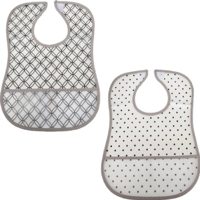 HÜTTE & CO 2-Pack PEVA Bib kruhy a body