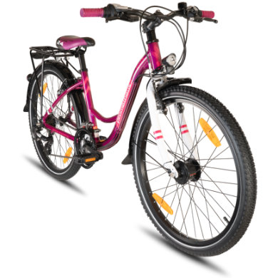 PROMETHEUS BICYCLES HAWK 24 Lila