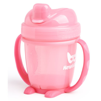 Herobility Drink cup Sippy Cup pink 140ml