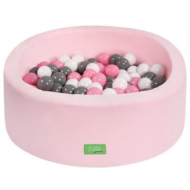 LULANDO dětský bazén s kuličkami růžový 90 cm