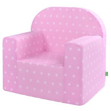 Sitzmöbel - LULANDO Classic Kindersessel Sternchen, rosa  - Onlineshop Babymarkt