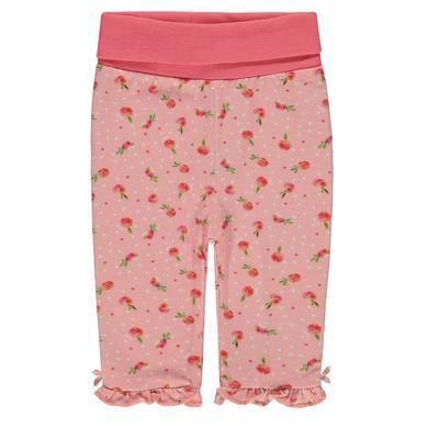 Steiff Girls Leggings, allover little peach rosa pink Gr.Babymode (6 24 Monate) Mädchen