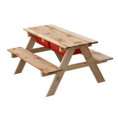 beluga Tischgruppe mit Matschbereich
