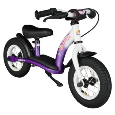 bikestar Kinderlaufrad 10 Classic Lila Weiß