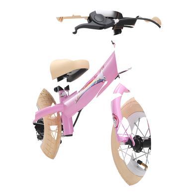 bikestar Sicherheits Kinderlaufrad 10, Pink Einhorn rosa pink