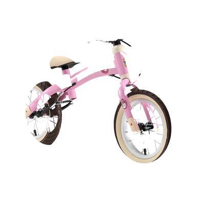 bikestar Sicherheits Kinderlaufrad 12, Pink Einhorn rosa pink