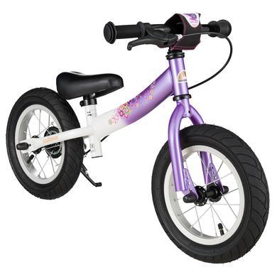 bikestar Sicherheits Kinderlaufrad 12, Candy Lila Diamant Weiß lila