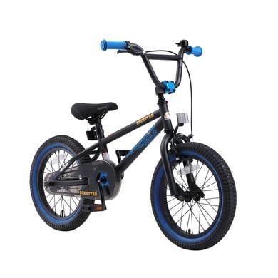 bikestar Kinderfahrrad 16 BMX Schwarz Blau schwarz