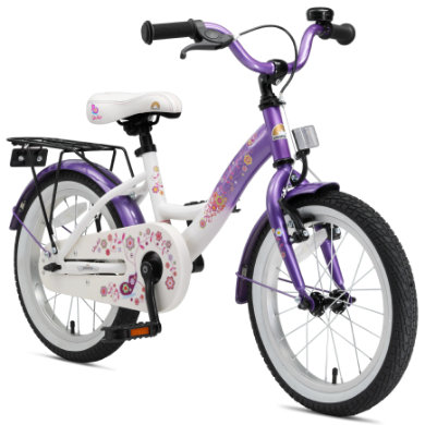bikestar Premium Kinderfahrrad 16 Candy Lila Diamant Weiß lila