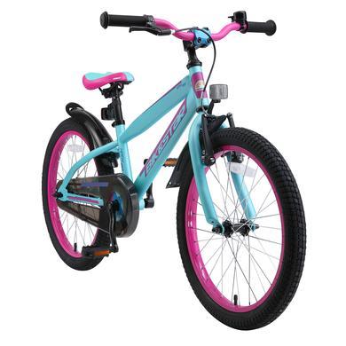 bikestar Premium Kinderfahrrad 20 Berry Türkis bunt