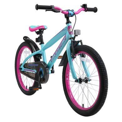 bikestar Premium Kinderfiets 20 Berry Turquoise
