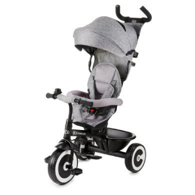 Dreirad - Kinderkraft 6 Tricycle ASTON, grau - Onlineshop