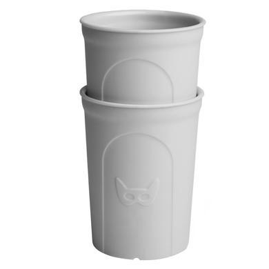 Herobility Drinkbeker Eco 2 x 140 ml grijs