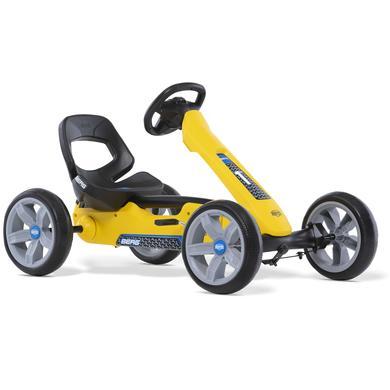BERG Kart à pédales enfant Reppy Rider noir/jaune