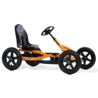 BERG Pedal Go Kart Buddy B Orange