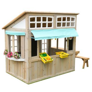 Spielhäuser und Sandkästen - Kidkraft® Gartenspielhaus Meadowlane Market  - Onlineshop Babymarkt