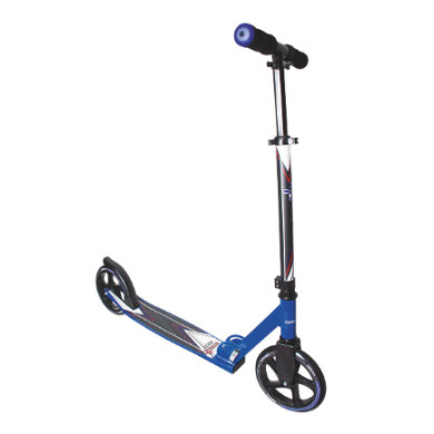 Authentic Sports Muuwmi Aluminium Scooter 205 mm, blau