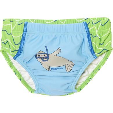 Babybademode - Playshoes UV–Schutz Windelbadehose Robbe blau - Onlineshop Babymarkt