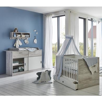 Babyzimmer - arthur berndt Sparset Justus grau  - Onlineshop Babymarkt