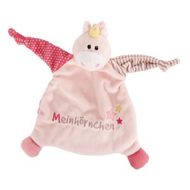 NICI My first NICI Schmusetuch Einhorn Stupsi Meinhörnchen 43658