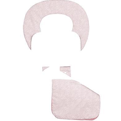 odenwälder ergonomická letní podložka do kočárku Babycool, New Woven candy pink - růžová/pink