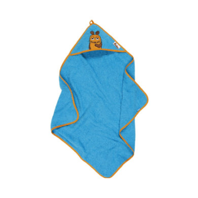 Playshoes  Terry Towel Hood The Mouse aqua blue - modrá
