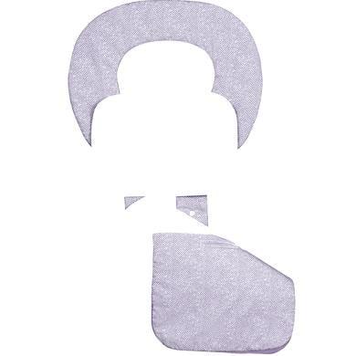 odenwälder ergonomická letní podložka do kočárku Babycool, New Woven violett - fialová