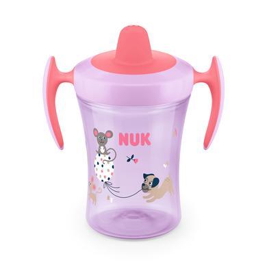 NUK Pitná láhev Evolution Trainer Cup od 6. měsíce růžová Design: Koala