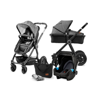 Kinderkraft Set 3v1 Veo Black Grey 2019