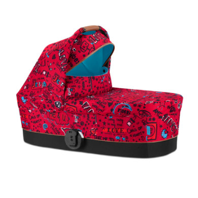 Cybex Carry Cot S Tropical Blue - červená