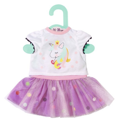 Zapf Creation Dolly Moda Unicorn Shirt s Tutu 36cm