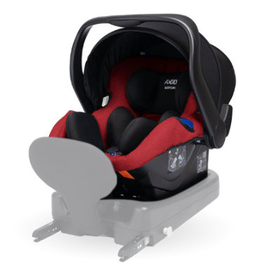 AXKID Modukid Infant i-Size 2019 Red