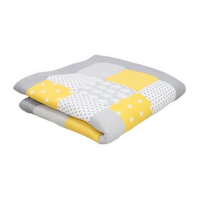 Ullenboom deka a vložka do ohrádky 120 x 120 cm slon, žlutá - pestrobarevná - Gr.120 x 120 cm